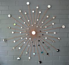 Hand Welded by Lisa Starburst Metal Steel Wall Art Mirror Modern Sunburst Retro & 279 best Starbursts images on Pinterest | Metal art and Metal yard art
