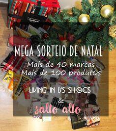 Salto Alto: MEGA SORTEIO: 2 Cabazes de Natal | Salto Alto + Li...
