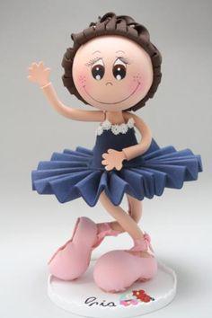 Muñeca fofucha personalizada bailarina