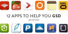 12 apps to help you gsd (get shit done) - meg biram - megbiram.com/blog