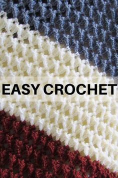 Free crochet afghan pattern with a beautiful texture - Crochet Dreamz - - Use this free crochet afghan pattern to make your most coveted home decor piece. The pattern has a beautiful texture that looks Crochet Afghans, Motifs Afghans, Easy Crochet Blanket, Crochet For Beginners Blanket, Crochet Stitches Patterns, Afghan Crochet Patterns, Crochet Baby, Crochet Ripple Afghan, Crochet Throws