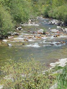 Tramo del río #Curueño, en la provincia de León.