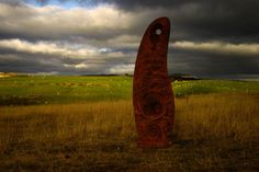 The ironstone -     Commissioned in late 2008 by The Dulais Valley Partnership, this sculpture is sited in khartoum Park on the outskirts of a village called Onllwyn in South Wales.  The idea was inspired by the numerous standing stones found locally and incorporates celtic La-Tene decoration, industrial imagery ( on the reverse side) as well as a Spanish inscription to commemorate men from Onllwyn who died in Spain fighting in the Spanish Civil War. The finished work is untreated cast iron.