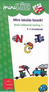Marci fejlesztő és kreatív oldala: Mini Lük-Mire Iskolás leszek 1.-2. Special Education, Minion, Kindergarten, Album, Minions, Kindergartens, Preschool, Preschools, Pre K