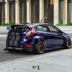 Ford Fiesta Mk7 5dr Wide Body Kit Krotov Pro Body Kit Wide Body Wide Body Kits