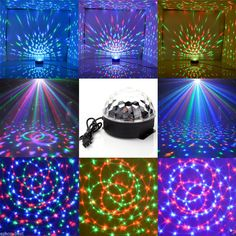 Lights & Lighting Sunny Circular Colorful Rgb Led Light Coasters Drink Glass Bottle Cup Coasters Mat Bar Party Club Mats Decoration Xmas Gift Bar Ktv Fragrant Aroma