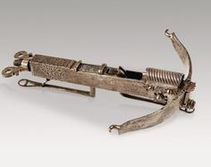 Antique Crossbow Pistol Miniature crossbow known: