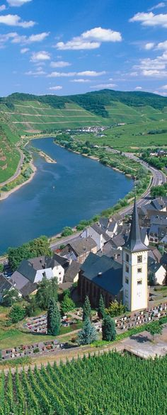 Simple Bremm and Moselle River Germany
