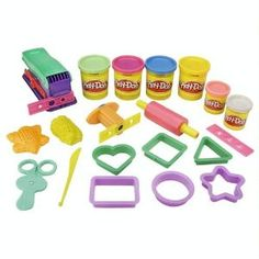 We went overboard researching the perfect play-doh set last Christmas. Settled on this one and the toddlers love it (so do their big kid friends). Comes in an easy to carry and store barrel. $21