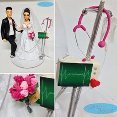 💗 #noivinhospersonalizados ❤️ #biscuit #profissão #enfermagem 💉 #hobby #futebol ⚽️ #wedding #casamentos #weddingideas #casacomigo #noivalinda #universodasnoivas #vestidodenoiva #weddingflowers #weddingday #weddingcake #weddingdress #weddingcaketopper #weddings #noiva #caraarteembiscuit #vestidos #topodebolo #topodebolocasamento #casamento 💕 Orçamentos: caraarteembiscuit@yahoo.com.br, ou envie uma mensagem inbox na página https://facebook.com/caraarteembiscuit