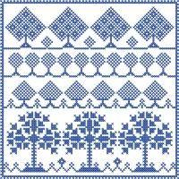 Sampler Vol. 7 - Cross Stitch - Designs By Janet Sansom   OregonPatchWorks