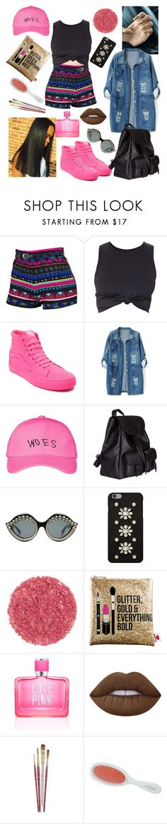 """""""💕💕"""" by raven-so-cute ❤ liked on Polyvore featuring Vans, Chicnova Fashion, October's Very Own, Yves Saint Laurent, Gucci, MICHAEL Michael Kors, Sephora Collection, Victoria's Secret PINK, Lime Crime and Mason Pearson"""