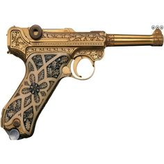 Steampunk Pistol | Steampunk ❤ liked on Polyvore featuring weapons, steampunk, fillers, gun and accessories