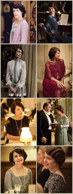 Lady Cora Grantham, season 4