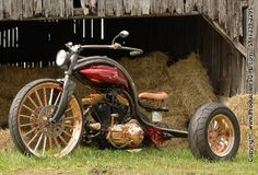 Incredible Steampunk Motorcycle