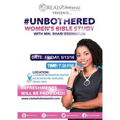 Join me this Friday for my Unbothered Women's Bible Study! #biblestudy #women #dallas #christian #garland #mesquite #plano #richardson #pleasantgrove #carrolton #desoto #duncanville by sharinacole
