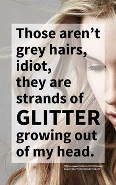 Not grey...just glitter!!