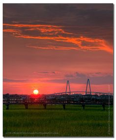 Ravenel Sunset - Charleston