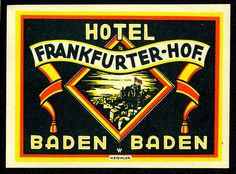 Baden Baden just a short distance from Karlsruhe  by katwood, via Flickr