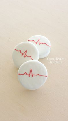 Custom Heart Beat Chocolate Covered Oreos (12) Doctor nurse medical gift by CrazyBrainChocolate on Etsy