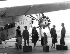 As well as the detrimental results flying had on a passengers' wallets in the 1930s, it al...