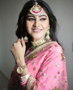 Ladies Suits Indian, Suits For Women, Clothes For Women, Party Wear Dresses, Bridal Dresses, Nimrat Khaira, Punjabi Models, Fancy Kurti, Punjabi Fashion