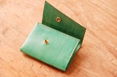 Unique and Fashionable minimalist leather fanny pack, wallet, portfolio, credit card holder handmade at UnimiStore.com