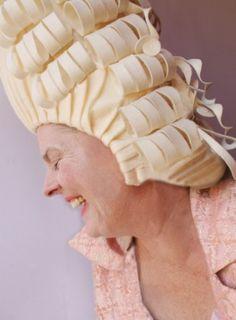 Must make felt Marie Antoinette wig