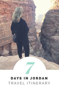 Planning a trip to Jordan? Check out my sample itinerary for a weeks travel in Jordan! Seven days in Jordan