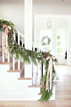 'Tis the season for everything merry and bright! And with just a simple swag or garland, you can transform your home into a winter wonderland. From a traditional length of evergreen hung across the mantle to a handmade Scandinavian-inspired wooden garland wrapped around your tree, there are endless ways to add Christmas cheer to your home.
