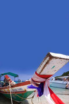 Long Boat in Ko Samui, Thailand