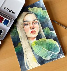 As a fellow Billie Eilish fanart account, I felt obligated to contribute to the Draw Billie in Your Style Challenge. Pencil Drawing Inspiration, Inspiration Art, Art Inspo, Pencil Drawings Of Girls, Love Drawings, Art Drawings, Watercolor Portraits, Watercolor Paintings, Dibujos Tumblr A Color