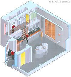 Engine room - U.S.S. Enterprise NCC-1701 - Seasons 2 & 3