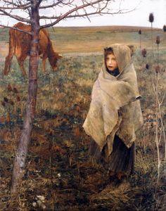 Jules Bastien-Lepage,Pauvre Fauvette, 1881