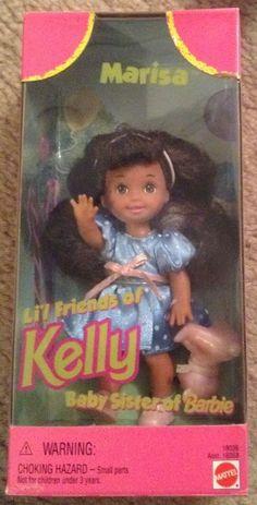 Li'l Friends of Kelly; Marisa. 1997. #18036.