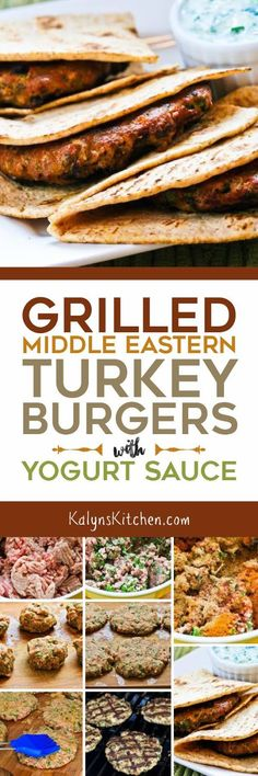 I love these Grilled Middle Eastern Turkey Burgers with Yogurt Sauce; eat in lettuce wraps for Keto or South Beach Diet Phase One or if you serve in low-carb pita like I did they are low-carb, low-glycemic, and South Beach Diet Phase Two. Either way they are delicious! [found on KalynsKitchen.com]
