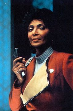 The lovely Nichelle Nichols in Star Trek III: The Search for Spock, 1984.