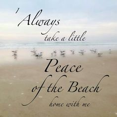 Peace of the Beach I always do. Either seashells, or sea glass. Or just some sand in my shoes. Ocean Quotes, Beach Quotes, Summer Quotes, Ocean Beach, Beach Day, Long Beach, Beach Trip, Summer Beach, Summer Vibes