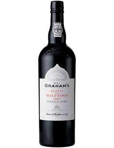 GRAHAM'S QUINTA DOS MALVEDOS VINTAGE 2001 PORT WINE