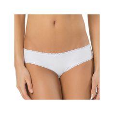 Juniors' SO® Lace-Trim Hipster, Women's, Size: Medium, White Oth