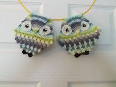 Ravelry: Hanging Owls pattern by Carole Marie