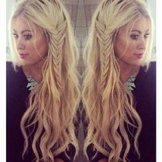 Love her hair! Beach