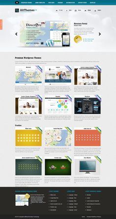 AIT Wordpress Themes // Webpage :) #webdesign #wordpress