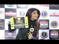 Bollywood beauty Shilpa Shetty AWARD WINNER at the Lions Gold Awards For more Shilpa Shetty's latest news, gossips, hot photos, hot videos, photoshoots. Shilpa Shetty, Award Winner, Lions, Awards, Videos, Gold, Lion, Yellow