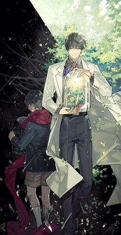 Dark Anime Guys, Hot Anime Boy, Manga Art, Anime Art, Magic Anime, Dc Comics, Shall We Date, Best Novels, Handsome Anime Guys