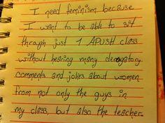 Sounds like an APUSH class I used to take....