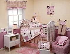 Kimberly Grant Pomegranate 4 Piece Crib Set by Crown Crafts, http://www.amazon.com/dp/B001JERP4U/ref=cm_sw_r_pi_dp_oUFerb0ZH6PGP