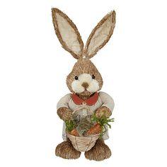 Buy John Lewis Rabbit with Basket, Large Online at johnlewis.com