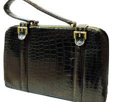 Lucille De Paris Crocodile Handbag -$495.