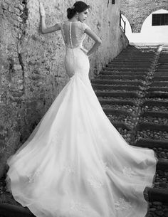 Wedding dress by Alessandra Rinaudo.  For wedding dress inspiration visit: http://www.boutiquebridalconcepts.com/suppliers/wedding-dresses  #alessandrarinaudo #weddingdresses #wedding